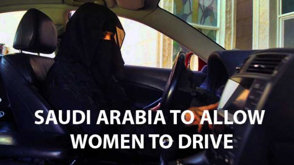 Saudi Arabia to allow to women to drive