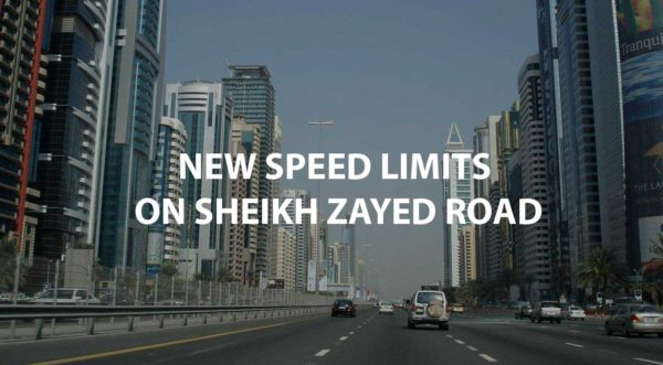 New Speed Limit for Sheikh Zayed Road